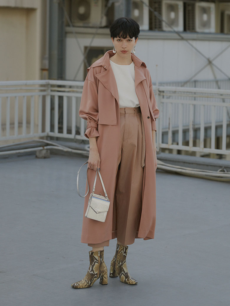 CHICK TRENCH COAT