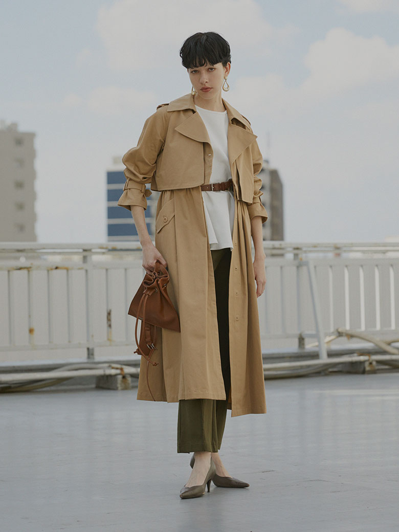 3WAY LADY TRENCH COAT
