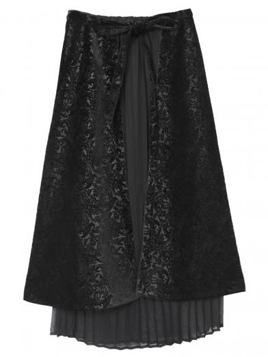 ARABESQUE LAYERED SKIRT