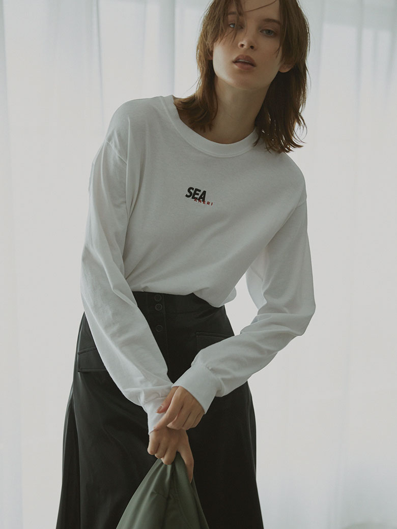 WIND AND SEA COLLAB LS TEE