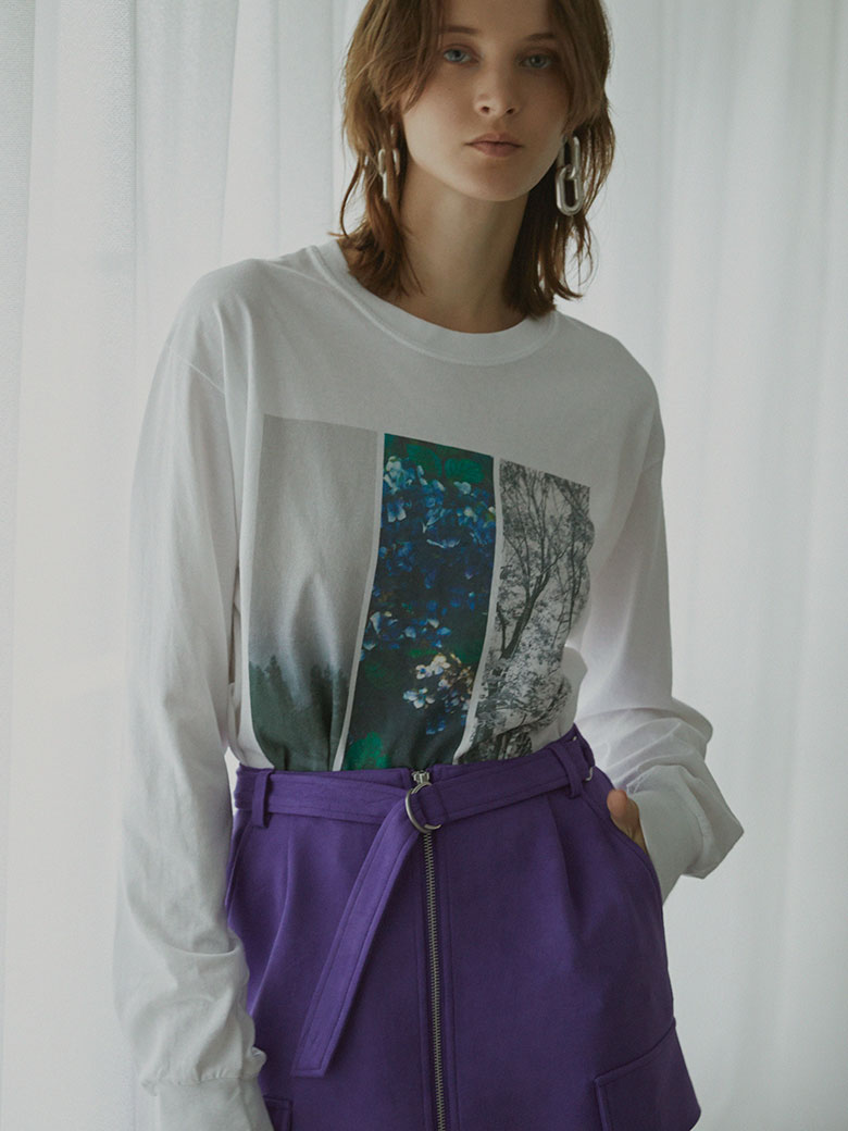 WIND AND SEA COLLAB PHOTO LS TEE