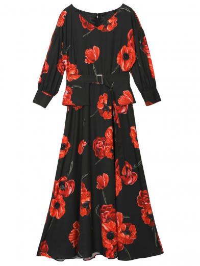 ASHLEY FLOWER DRESS
