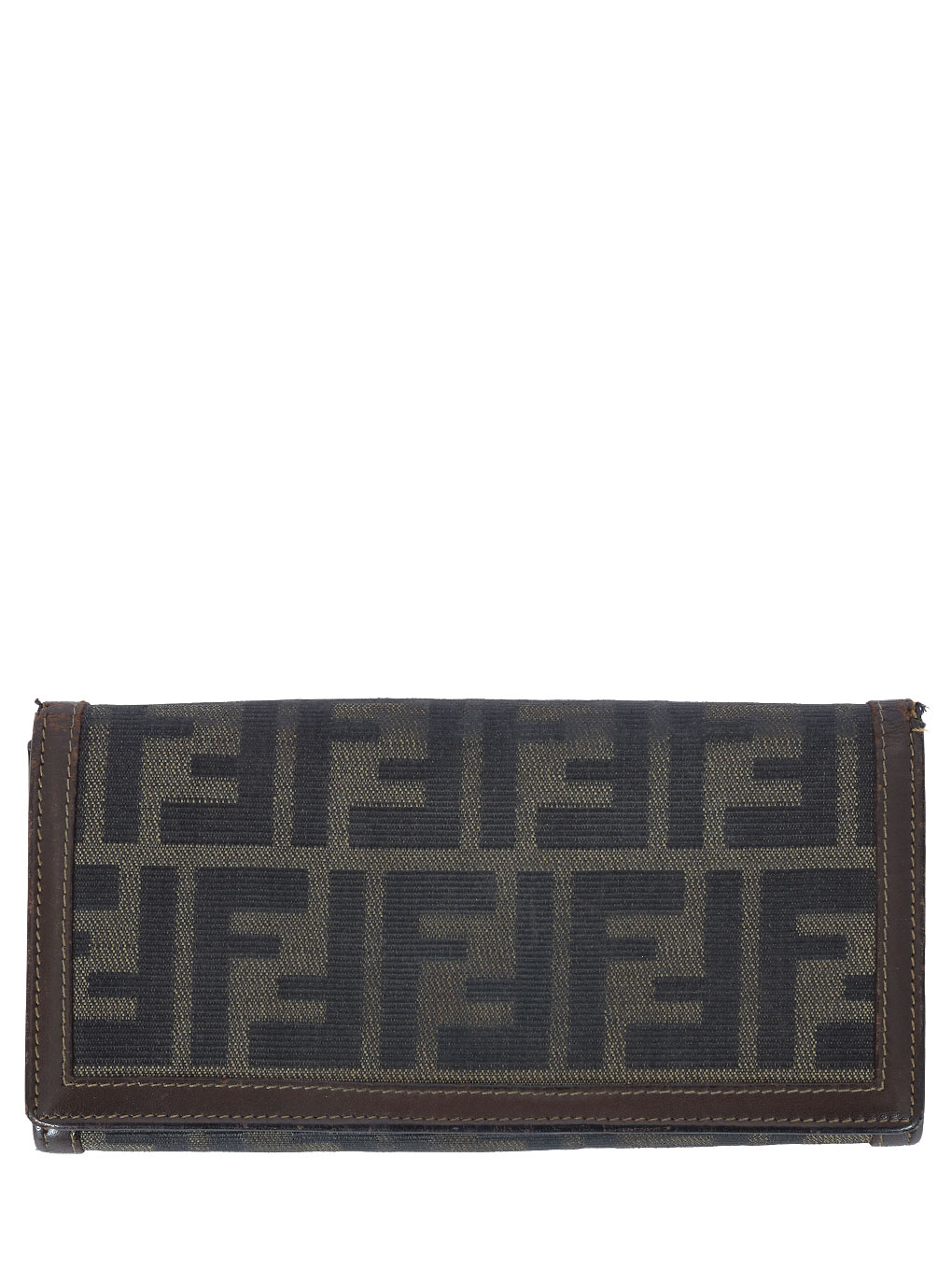 FENDI FF柄 LONG WALLET
