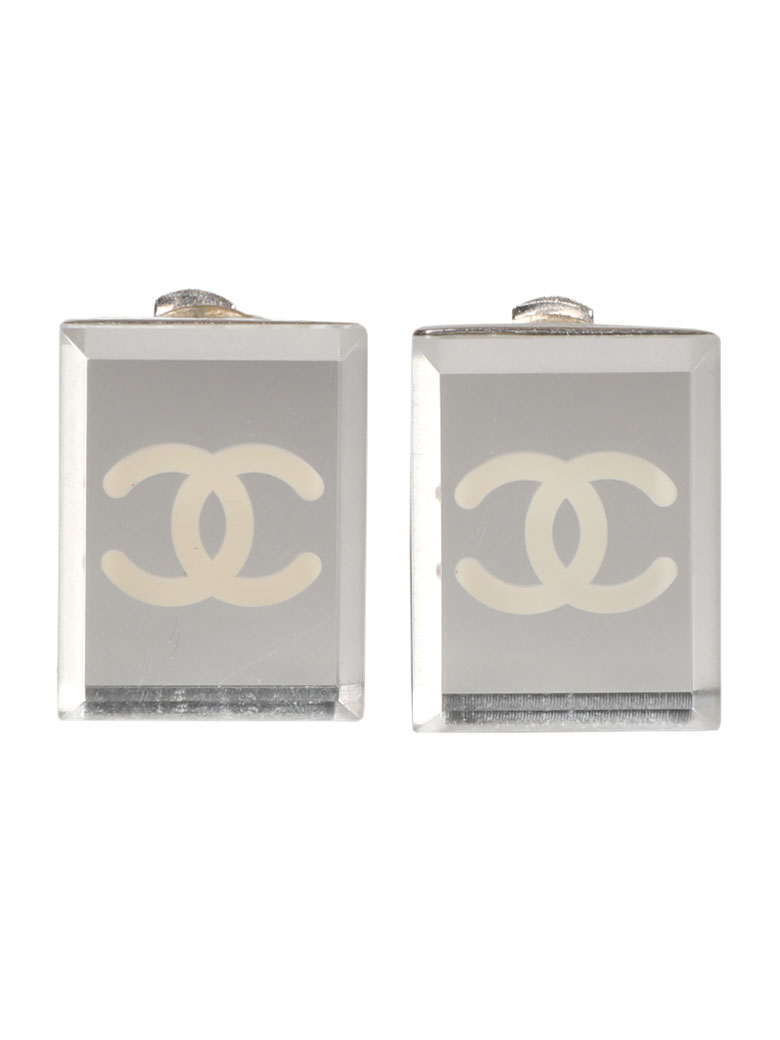 CHANEL CRYSTAL COCO EARRINGS