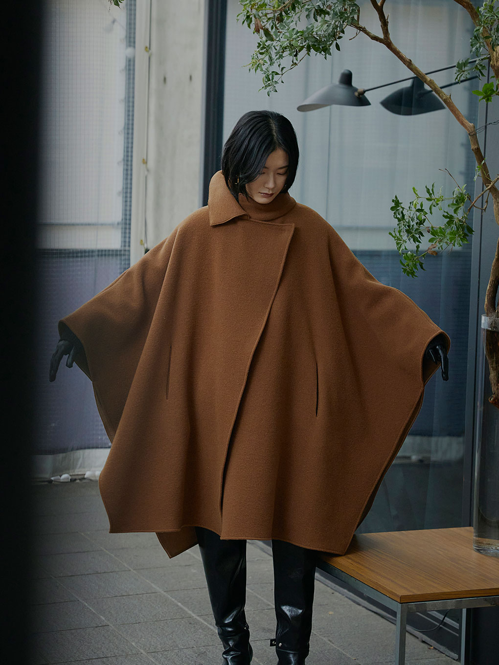 UNDRESSED HANDY OVER PONCHO