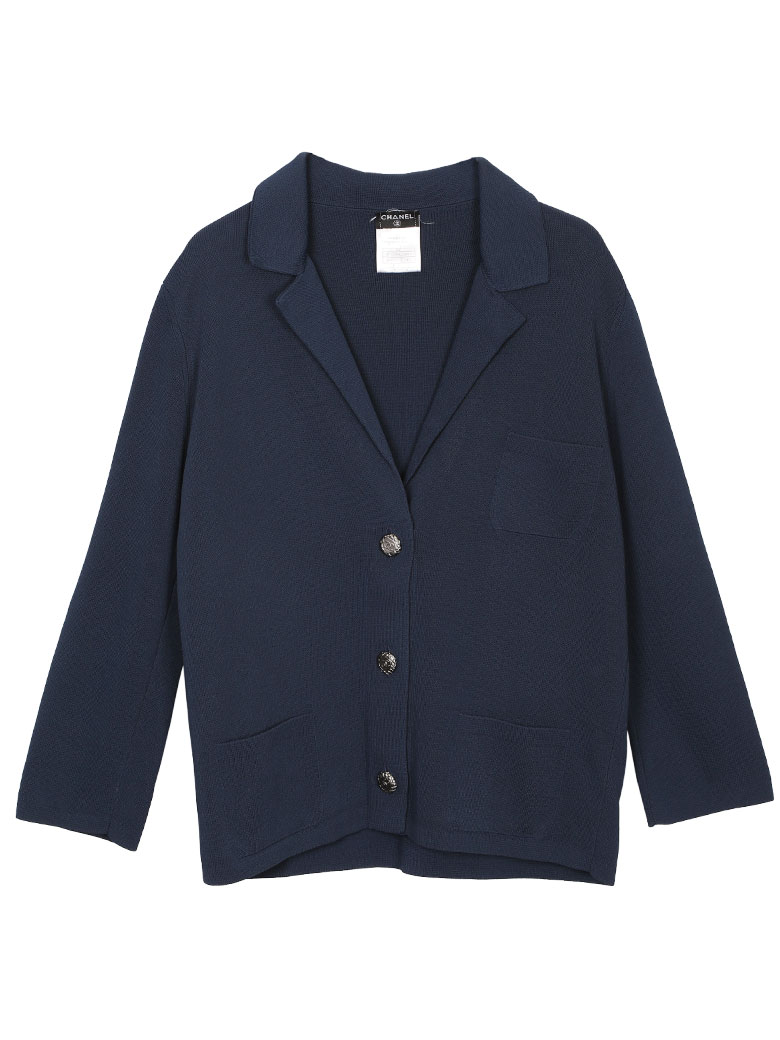 CHANEL KNIT TAILORED JACKET