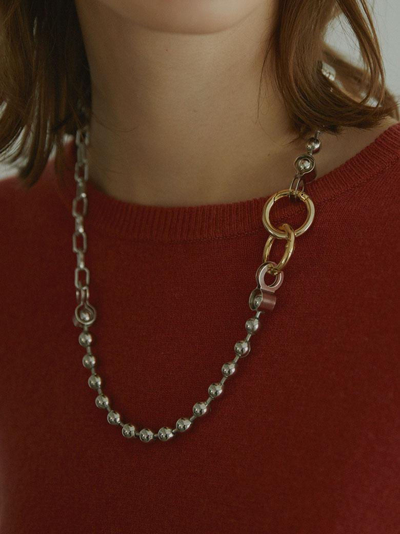 Bijou R.I Ball Chain Necklace