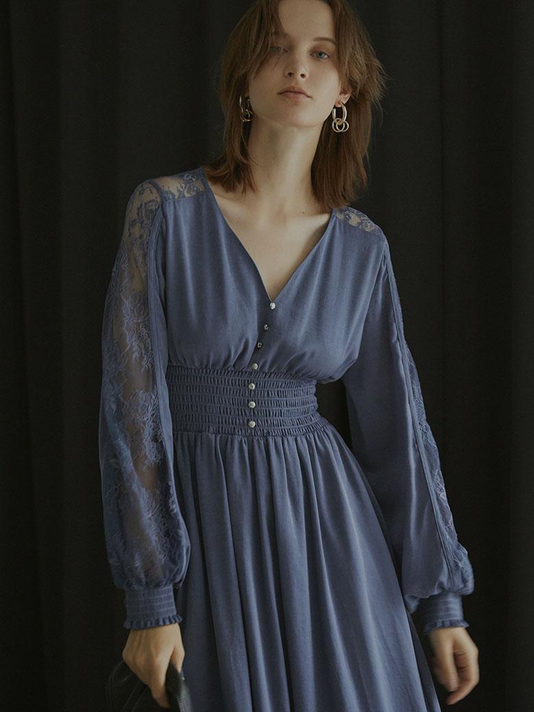 UNDRESSED GRACEFUL HALF LACE DRESS