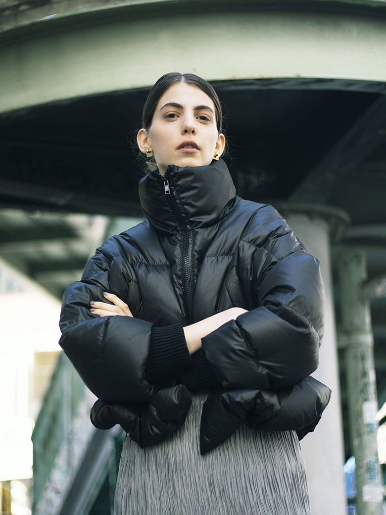 STAND COLLAR DOWN JACKET