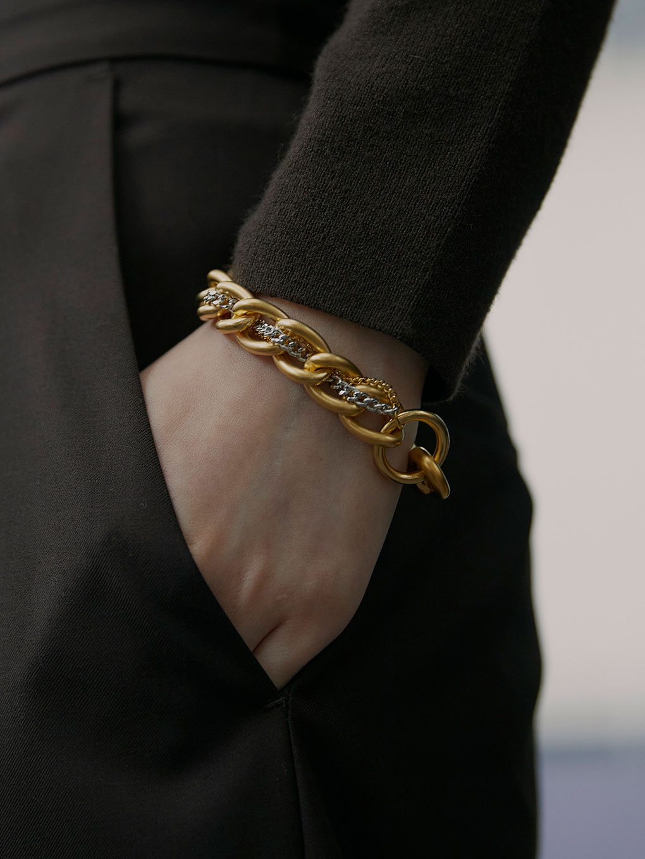 Bijou R.I Loop Clutch Bracelet