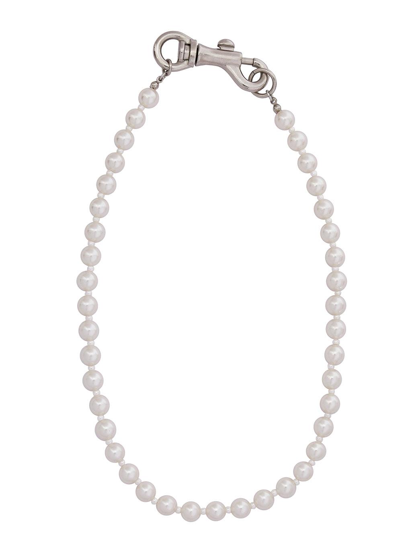 Bijou R.I Pearl Clutch Necklace