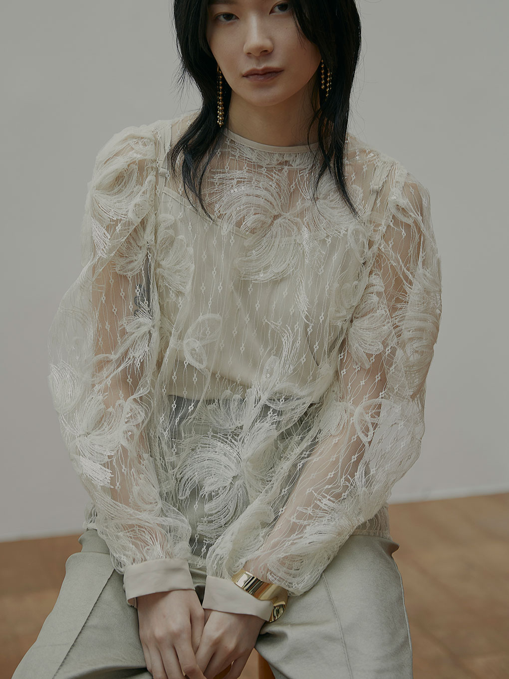 UNDRESSED 2WAY FAIRY LACE BLOUSE