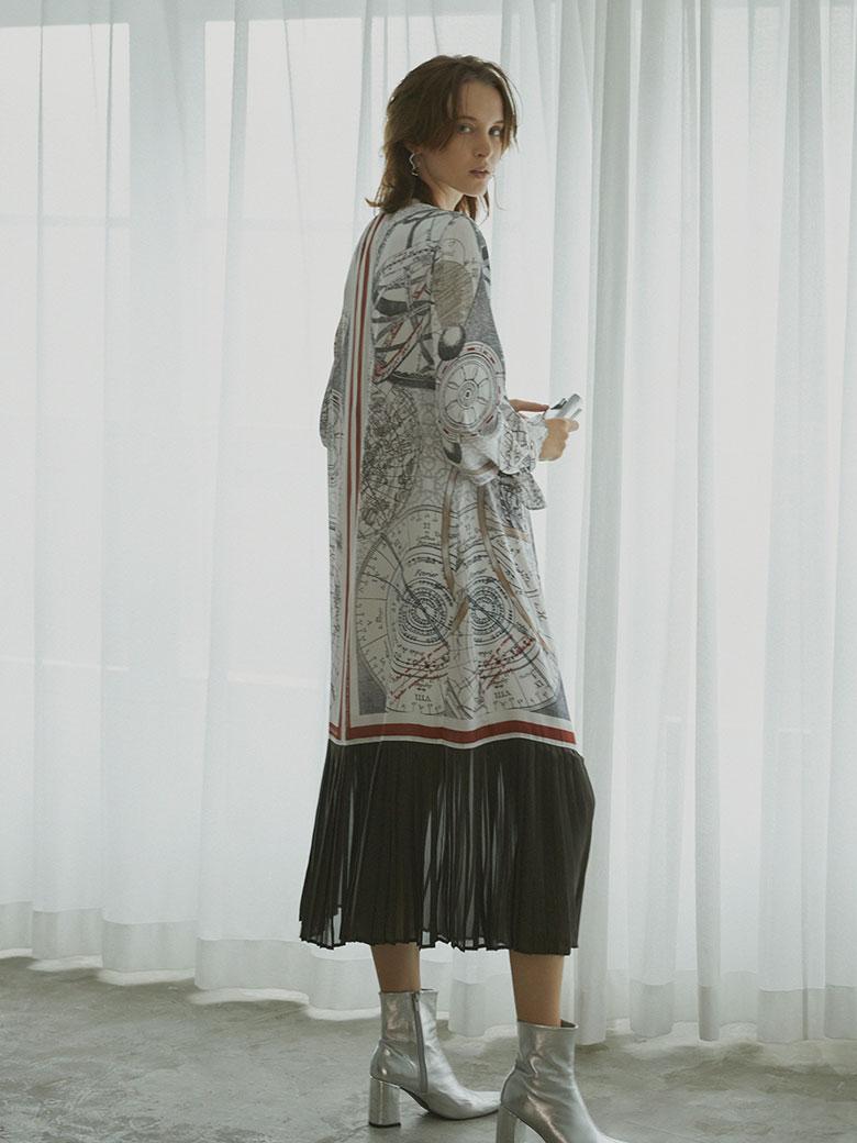 UNDRESSED CRUISE SCARF DRESS