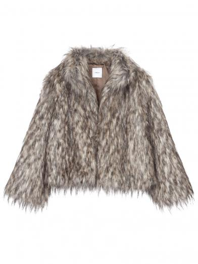 MIX FUR JACKET