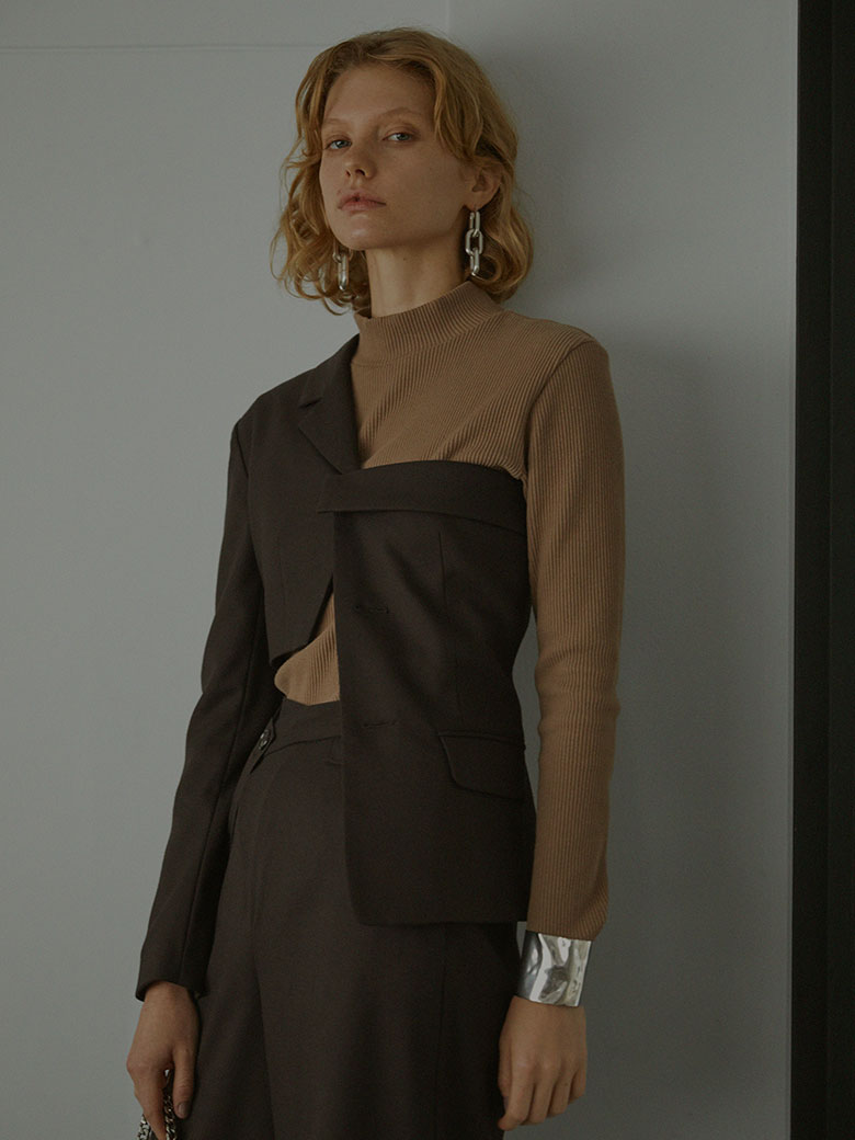 UNDRESSED REMAKE LIKE TAILORED TOP