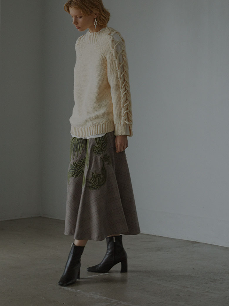 UNDRESSED SHIRT LAYERED KNIT