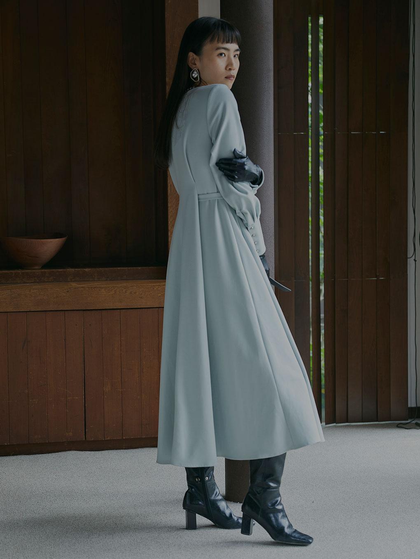 UNDRESSED BACK TUCK DRESS
