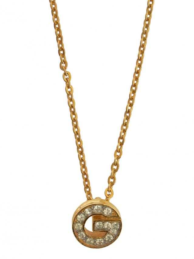 GIVENCHY G LOGO NECKLACE