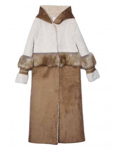 FUR DOCKING MOUTON COAT