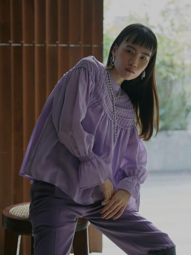 MERRY SMOCK BLOUSE