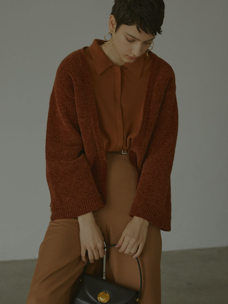 UNDRESSED FAKE LAYERED CARDIGAN