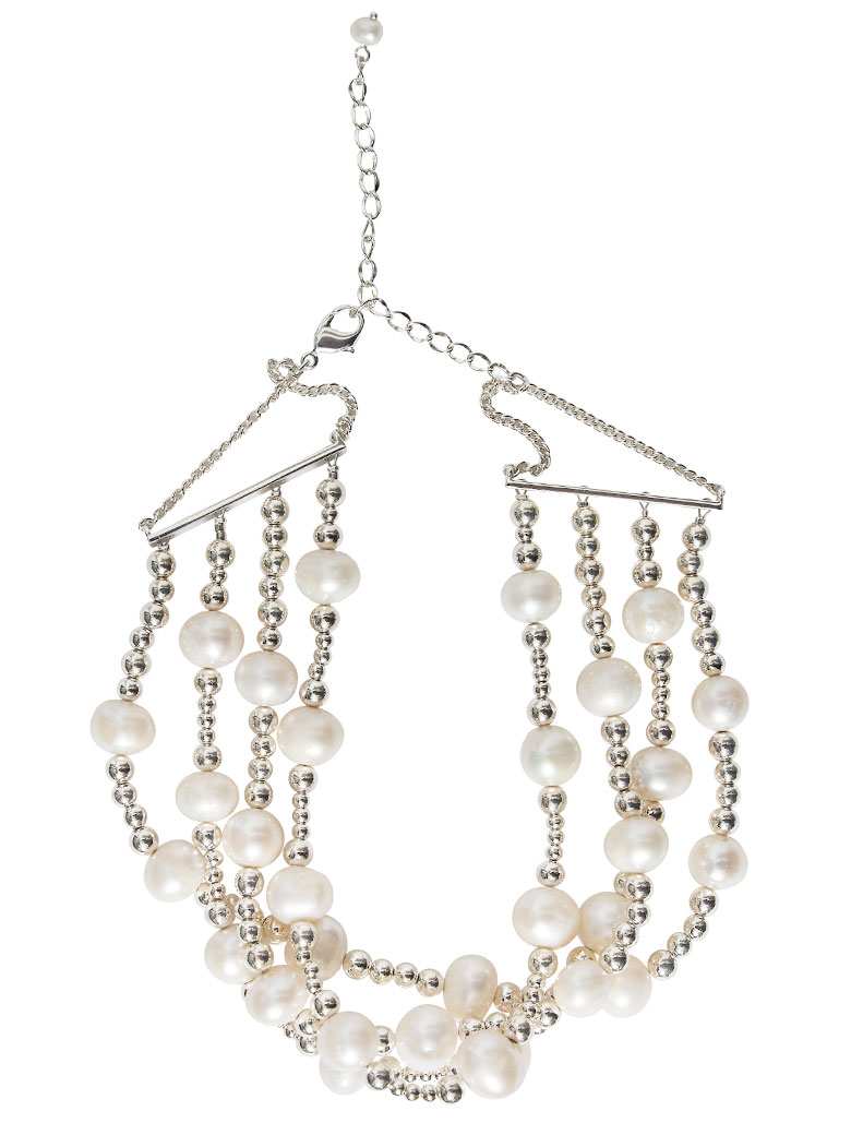 PEARL SPIN ROUND NECKLACE