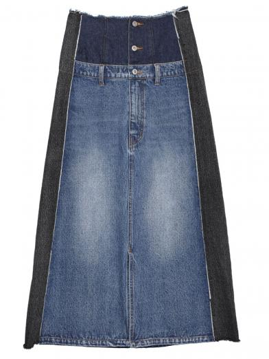 REMAKE LIKE DENIM SKIRT