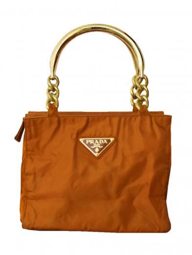 PRADA GOLD HANDLE BAG