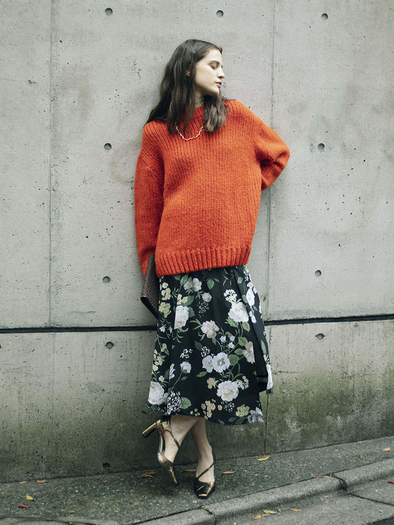 SOFT OVER CRAYON KNIT