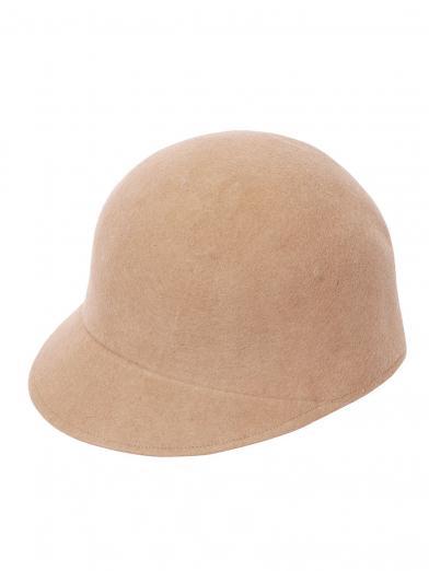 WOOL BRIM CAP