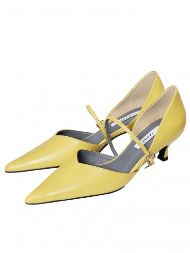 V CUT COLOR PUMPS